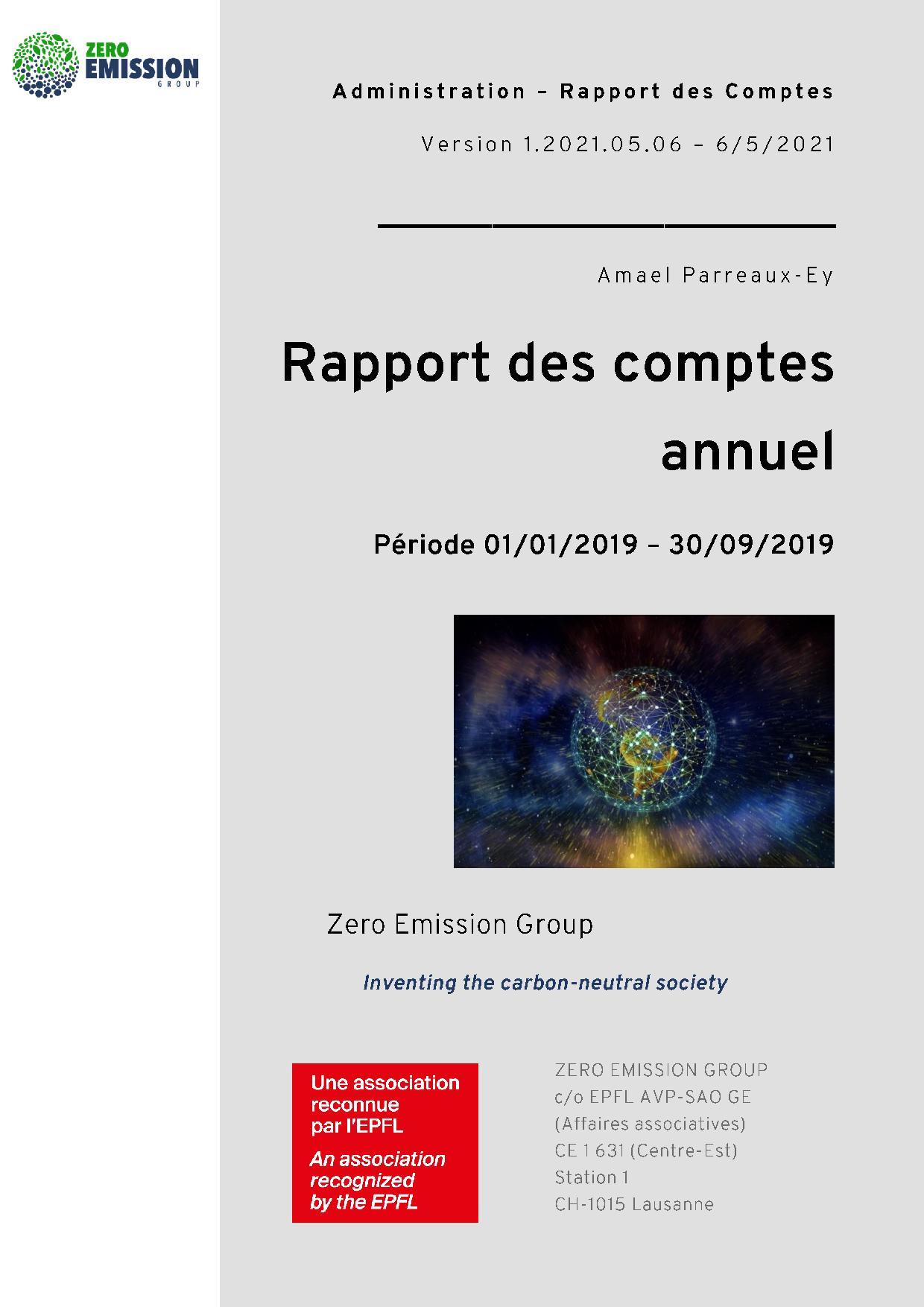 Financial Report 2019